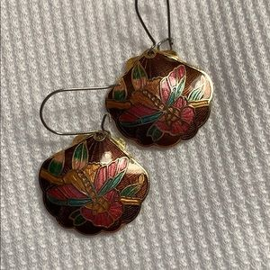 ⚠️New Inventory ⚠️ Cloisonné Dangle Earrings